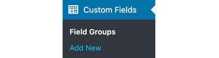 Add new Custom Fields